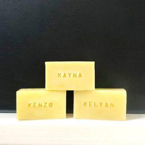 L'Événement Savon - Savon personnalisé - Format mini-rectangle- Tout Doux